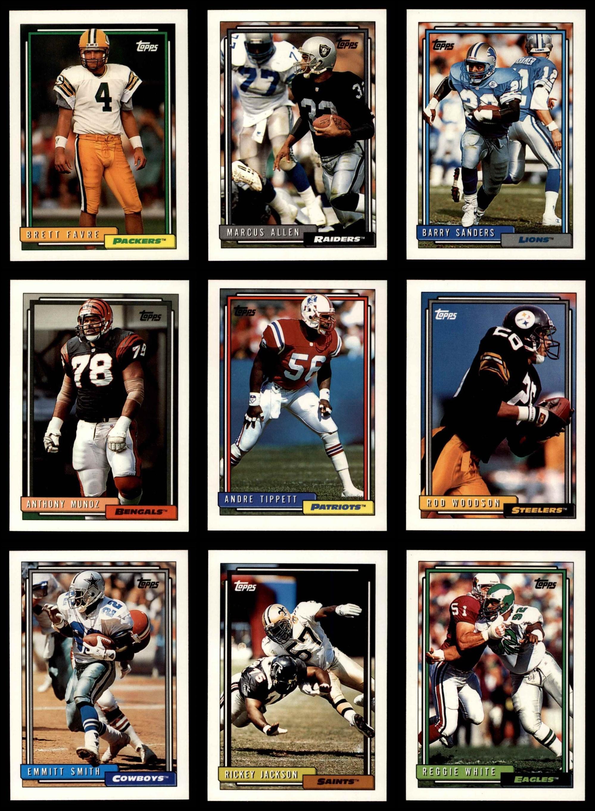 Amerikaans voetbal 1993 Topps Stadium Club 1st Day Production #226 Marvin Jones New York Jets Card Verzamelkaarten: sport