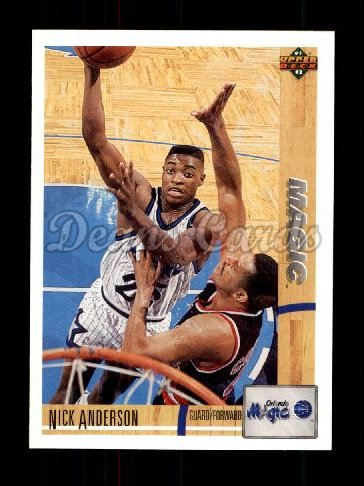 1991 Upper Deck #228  Nick Anderson
