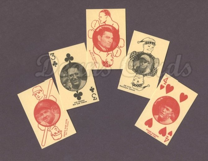 1927 W560 Playing Card Reprint     Set