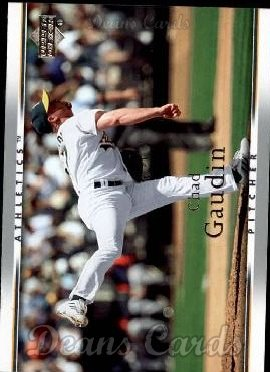 2007 Upper Deck #190  Chad Gaudin
