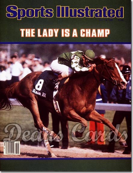 1980 Sports Illustrated - With Label   May 12  -  Genuine Risk (Kentucky Derby)