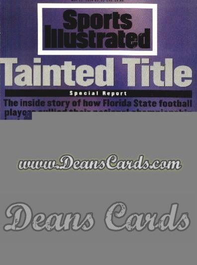1994 Sports Illustrated - With Label   May 16  -  Florida State Seminoles (