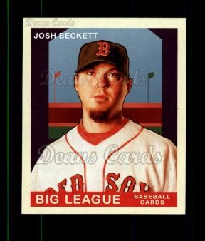 2007 Upper Deck Goudey Green Backs #67  Josh Beckett