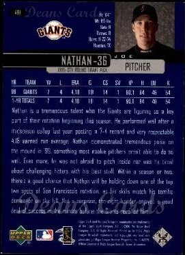 2000 Upper Deck #491  Joe Nathan