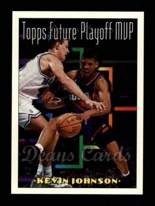 1993 Topps #207   -  Kevin Johnson Future Playoff MVP