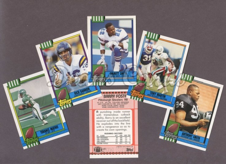 1990 Topps     Football Traded Complete Set
