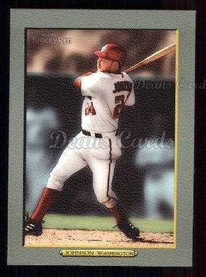 2005 Topps Turkey Red #31  Nick Johnson