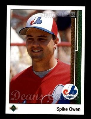 1989 Upper Deck #717  Spike Owen