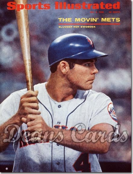 1968 Sports Illustrated - No Label   May 6  -  Ron Swoboda (New York)