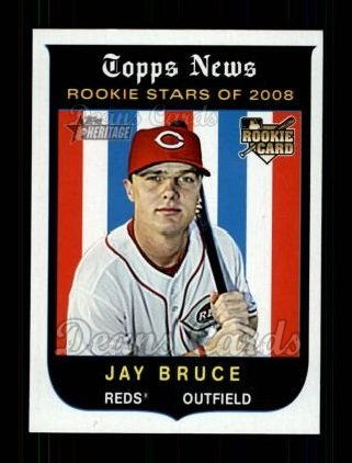 2008 Topps Heritage #547  Jay Bruce