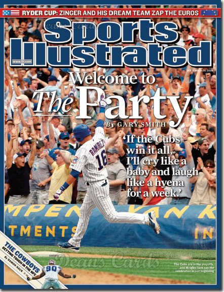 2008 Sports Illustrated - With Label   September 29  -  Aramis Ramirez of the Cubs