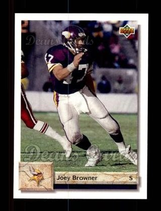 1992 Upper Deck #209  Joey Browner