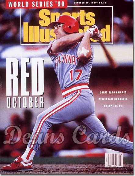 1990 Sports Illustrated - With Label   October 29  -  Chris Sabo (Cincinnati Reds)
