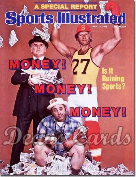 1978 Sports Illustrated - With Label   July 17  -  Money & Sports