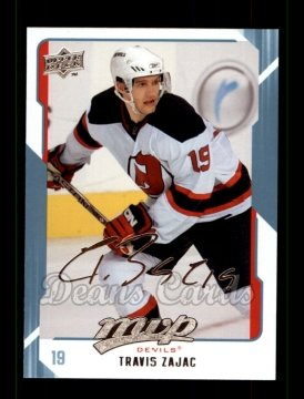 2008 Upper Deck MVP #180  Travis Zajac
