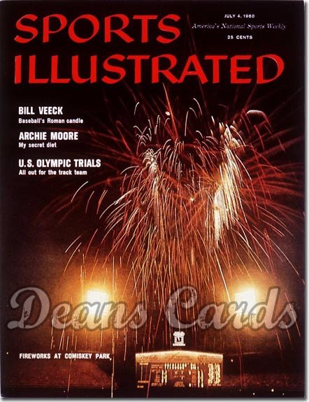 1960 Sports Illustrated - No Label   July 4  -  Comiskey Park (Chicago White Sox)