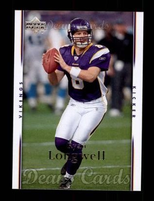 2007 Upper Deck #103  Ryan Longwell
