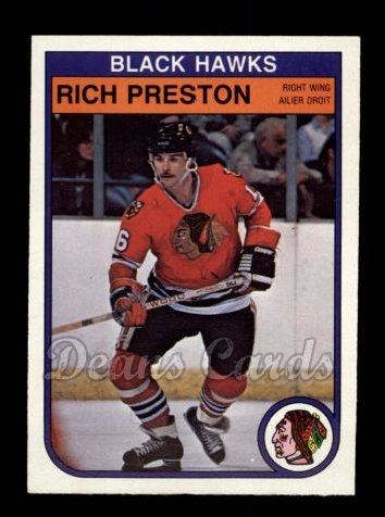 1982 O-Pee-Chee #71  Rich Preston