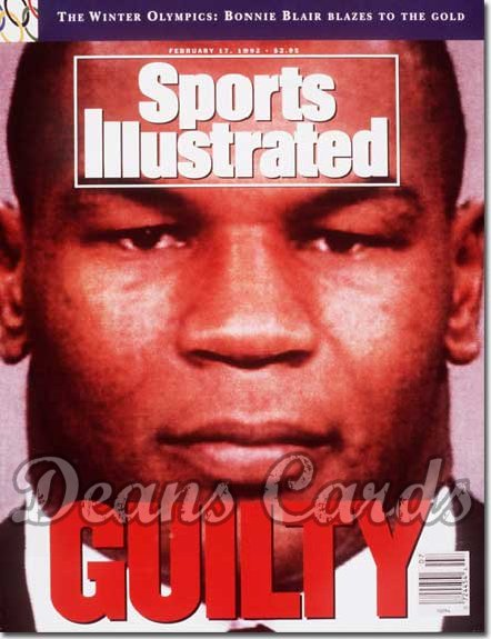 1992 Sports Illustrated - No Label   February 17  -  Mike Tyson