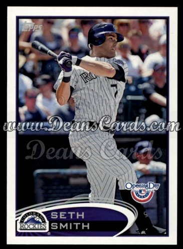 2012 Topps Opening Day #182  Seth Smith