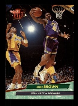 1992 Fleer Ultra #178  Mike Brown