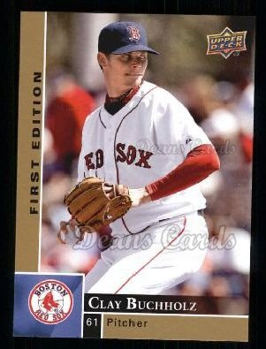 2009 Upper Deck First Edition #41  Clay Buchholz