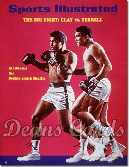 1967 Sports Illustrated - With Label   February 6  -  Muhammad Ali (Boxing)