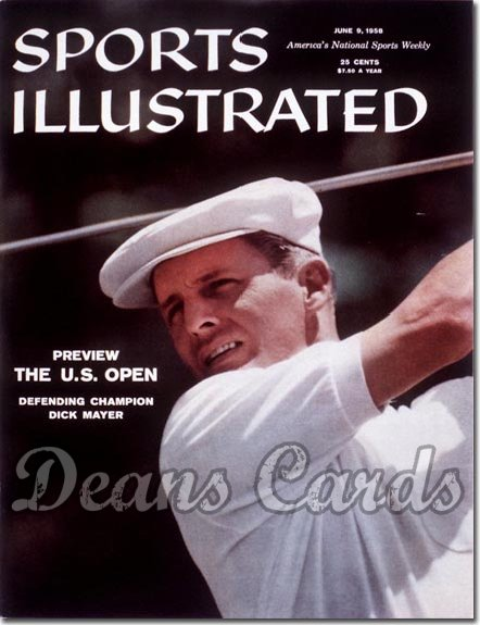 1958 Sports Illustrated - With Label   June 9  -  Dick Mayer