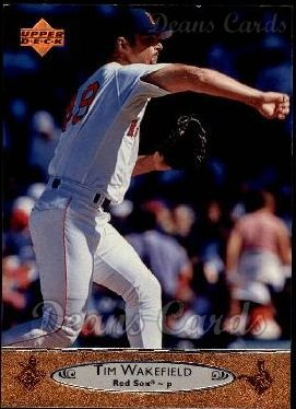 1996 Upper Deck 19 Tim Wakefield