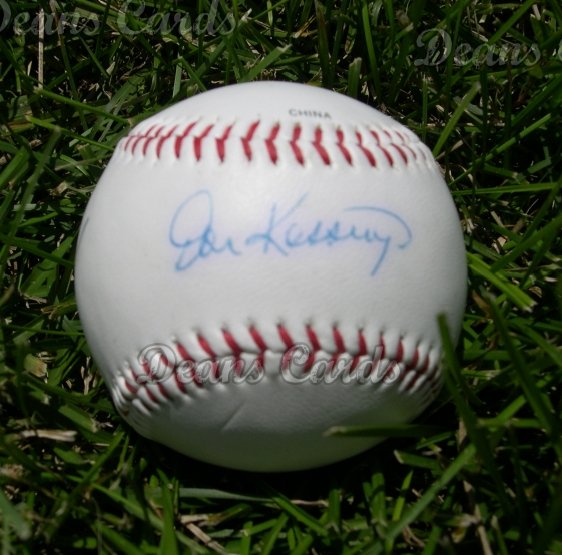 Don Kessinger Autographed Ball
