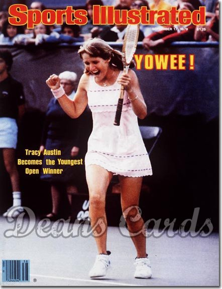 1979 Sports Illustrated - With Label   September 17  -  Tracy Austin