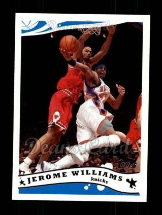 2005 Topps #64  Jerome Williams
