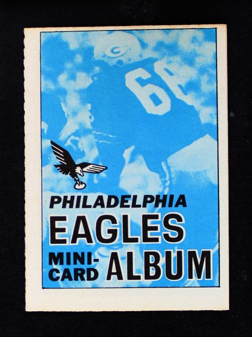 1969 Topps 4-in-1 Football Stamp Albums ALL  Philadelphia Eagles
