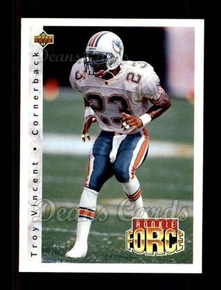 1992 Upper Deck #423  Troy Vincent