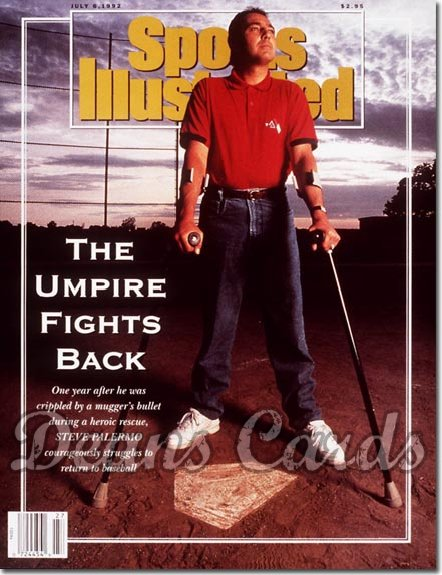 1992 Sports Illustrated - With Label   July 6  -  Steve Palermo (Umpire)