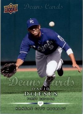 2008 Upper Deck First Edition #216  David DeJesus