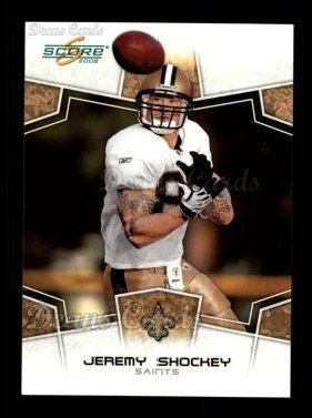 2008 Score #210  Jeremy Shockey