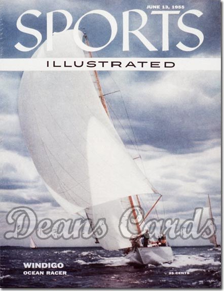 1955 Sports Illustrated - With Label   June 13  -  Magnus Johnson (Ocean Racing)