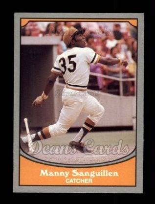 1990 Pacific Legends #75  Manny Sanguillen