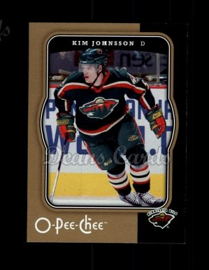 2007 O-Pee-Chee #236  Kim Johnsson