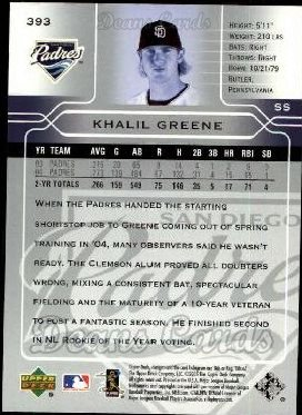 2005 Upper Deck #393  Khalil Greene