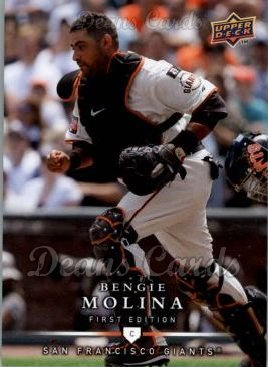 2008 Upper Deck First Edition #95  Bengie Molina