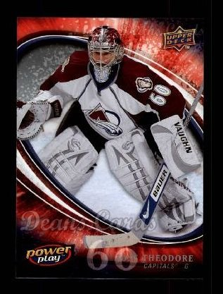 2008 Upper Deck Power Play #293  Jose Theodore