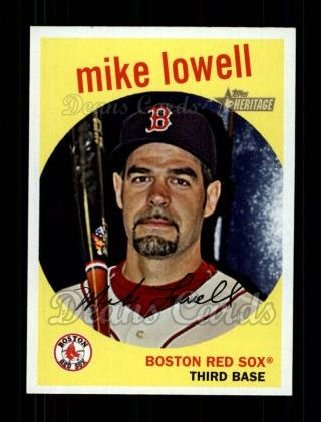 2008 Topps Heritage #220  Mike Lowell