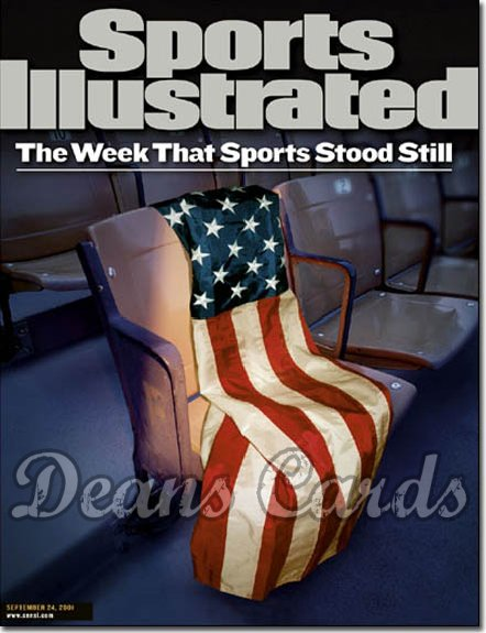 2001 Sports Illustrated - With Label   September 24  -  9/11 Aftermath