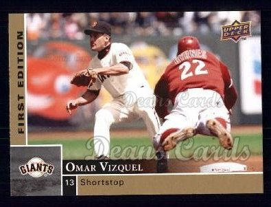 2009 Upper Deck First Edition #253  Omar Vizquel