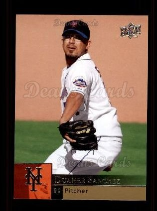2009 Upper Deck #754  Duaner Sanchez