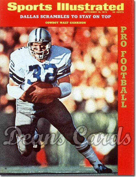 1972 Sports Illustrated - With Label   September 18  -  Walt Garrison (Dallas Cowboys)