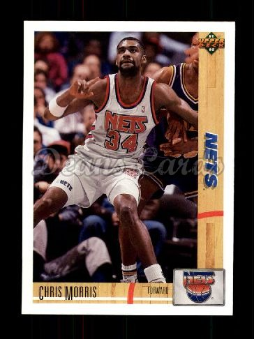 1991 Upper Deck #339  Chris Morris