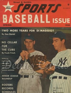 1950 Street & Smith's Baseball Yearbook   -  Ted Williams / Joe DiMaggio